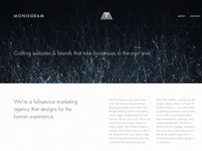 Web Design Study typography logo video design website