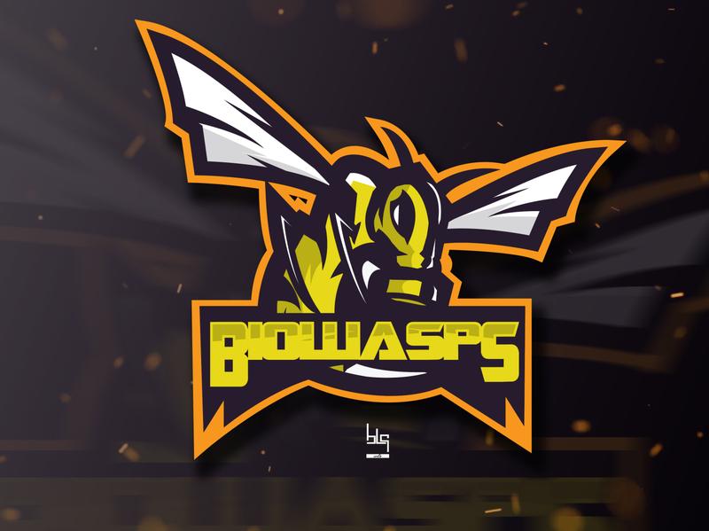 Wasp team logo team drawing graphic art logo illustration art design graphic vector