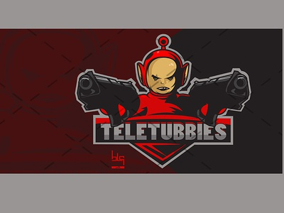 TEletubbies esport vector team logo