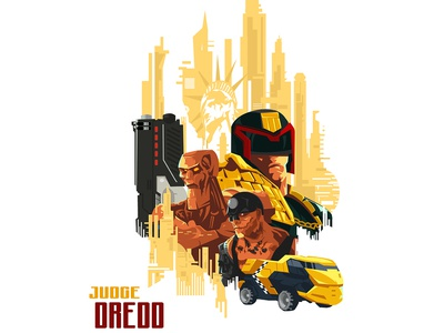 Judge Dredd movie poster