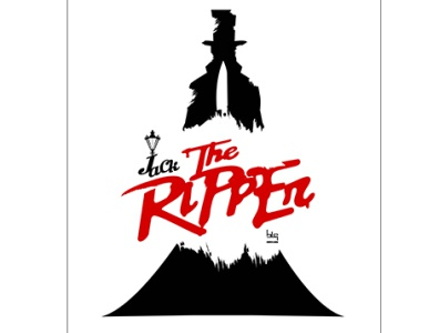 Jacks the Ripper cover ripper thriller horror illustration graphic art cover