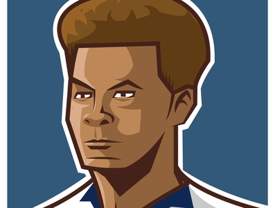 Dele Alli dele alli football player soccer team sport portrait graphic art drawing art illustration design graphic vector