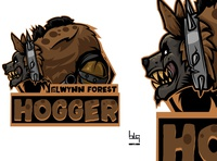 Hogger vector graphic