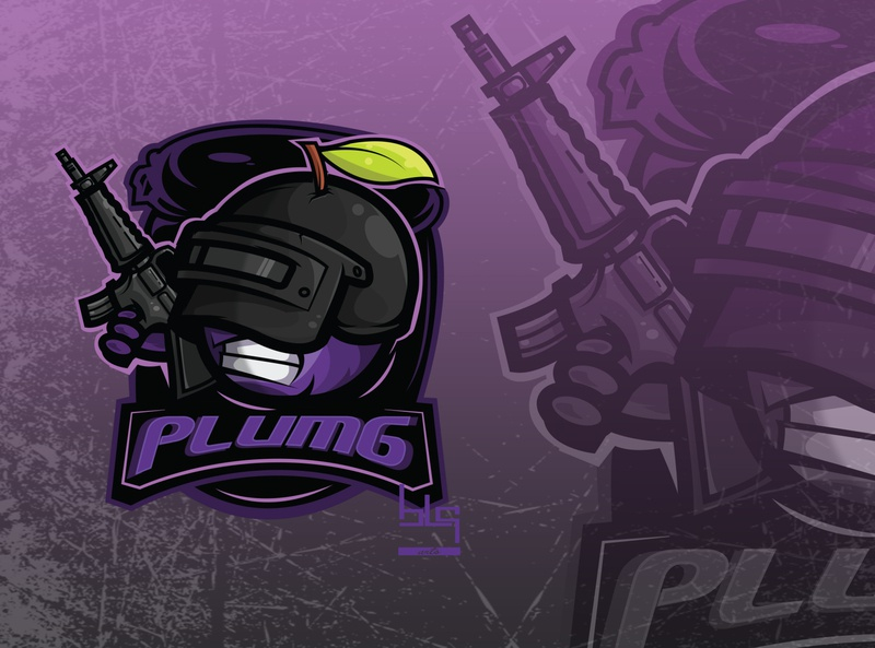 Pubg logo gamer pubg graphic art art drawing logo illustration design graphic vector