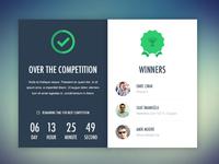 Winners List UI