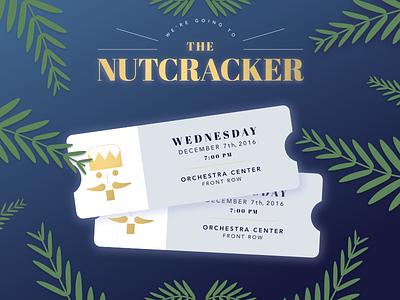 Nutcrackin sketch sketch app good news ballet gift invitation ticket nutcracker