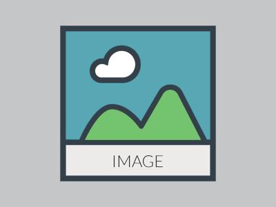 Image icon streamline color icon