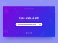 Hack Blockchain- UI/UX Design