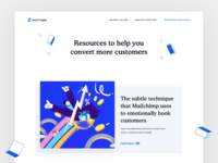 SaaS Blog Design
