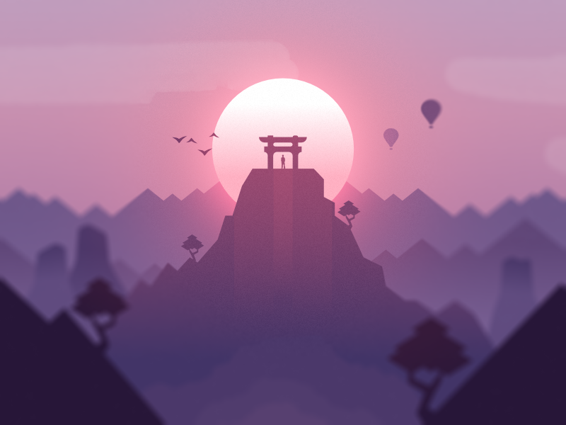Japan by vezto dribbble for Hashicorp careers