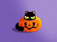 Pumpkin Cat!
