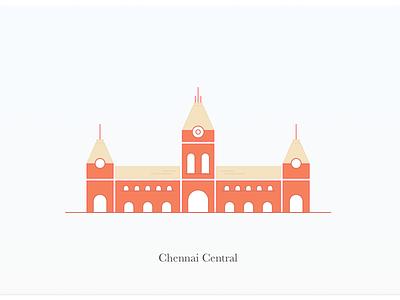 Chennai madras station railway central chennai
