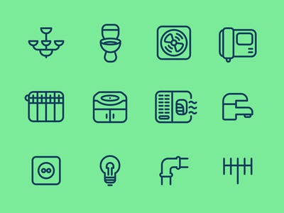 Home Service Icons