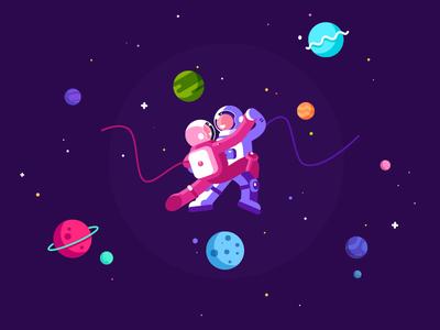 Tango in Cosmos