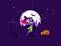 Dracula + Witch = Tango