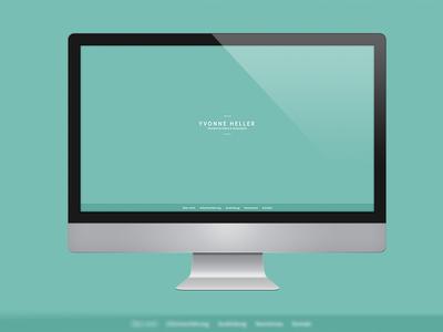 Yvonne Heller CV/Portfolio Website