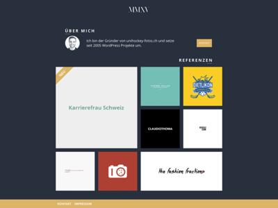 MMXV - WordPress Portfolio Theme