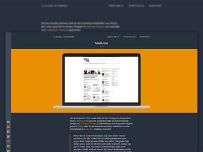 WordPress Portfolio Detail UI