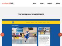 Made With WordPress directory listing directory design website portfolio switzerland showcase wordpress development wordpress blog theme wordpress design wordpress sass html