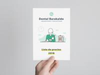 Flyer for Dental Barakaldo