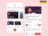 Areuin App Screens