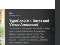 TypeCon News