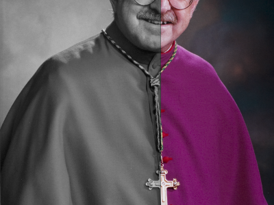 Converting The Bishop bishop portrait photoshop photo photography desaturate