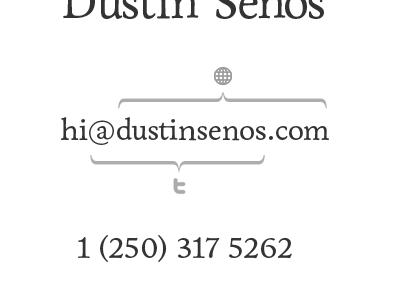 Delineating Dustin's Intertoobs black white monochrome monochromatic delineation address internet text icon dustinsenos