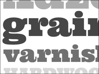 Grain Varnish type gray grey typography specimen typedia serif ultra google clarendon egyptian astigmatic brianbonislawsky
