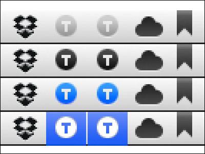 "TextExpander ""White Shadow"" Edition blue gray grey icon interface mac macintosh menu osx snowleopard software textexpander ui utility"