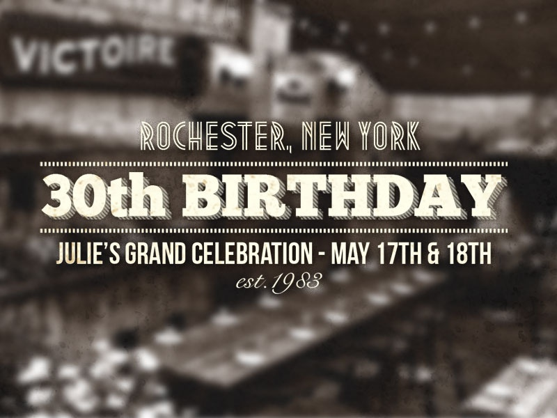 Birthday Invitation Website By Break Free Graphics