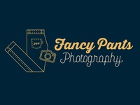 Fancy Pants Photography Logo Design 📸👖 photography branding brand design logodesign photography pants