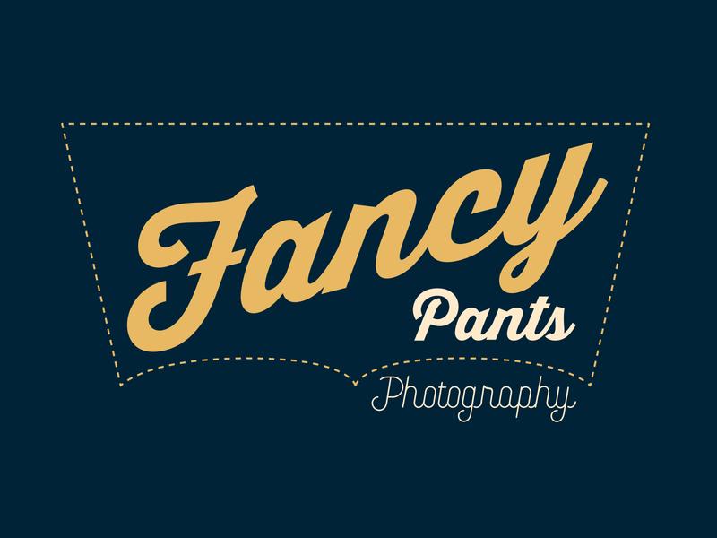 Fancy Pants Photography Logo Design 📸👖 branding design logo design pants photography branding photography branding