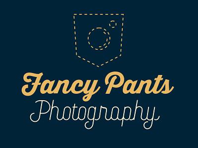 Fancy Pants Photography Logo Design 📸👖 branding design logodesign pants photography branding photography branding