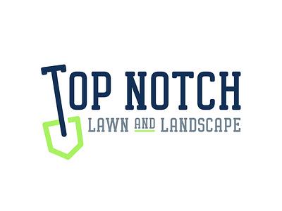 Lawn and Landscape Brand Design 👨🌾🌿 shovel brand identity brand design logo design landscape lawn