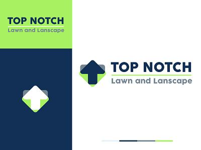 Lawn and Landscape Brand Design 👨🌾🌿 branding design identitydesign landscape lawncare logodesign branding