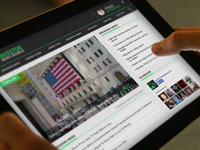 Investment News Touch Mockups