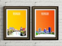 Lost Borough City Posters