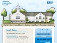 Church Website Concept