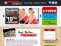 Fitness Center Website