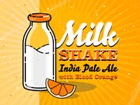 Milkshake IPA with Blood Orange