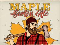 Maple Scotch Ale