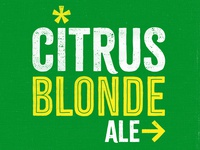 Citrus Blonde Ale