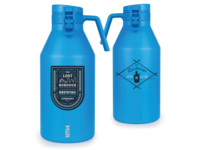 Jug Club 64oz Growler w/Adventure Badge