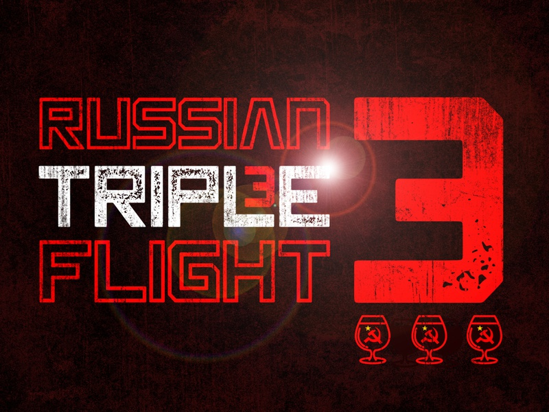 Russian Imperial Triple Flight beerflight triple imperial russian beer branding beer brewery beer art lostboroughbrewing