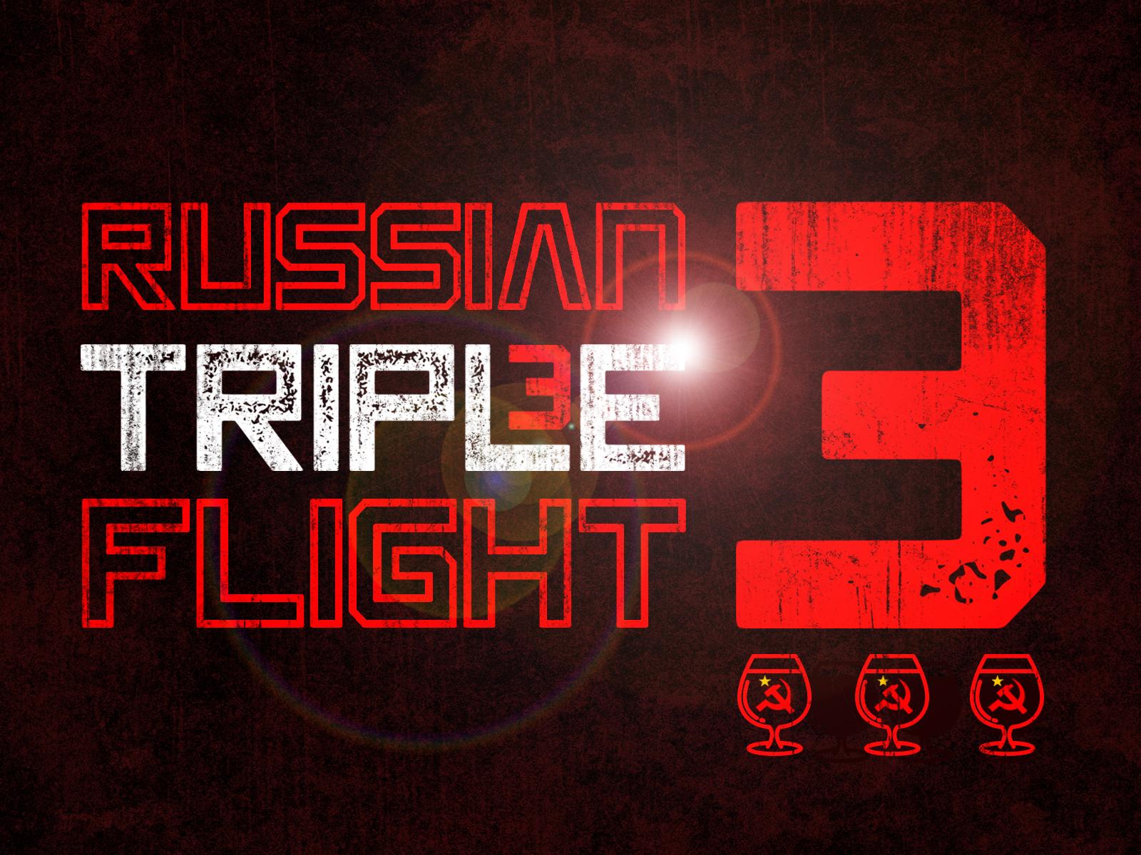 Russian Imperial Triple Flight beerflight triple imperial russian beer branding beer brewery beer art lostboroughbrewing