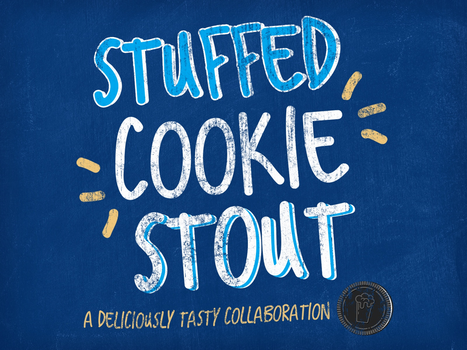Stuffed cookie stout