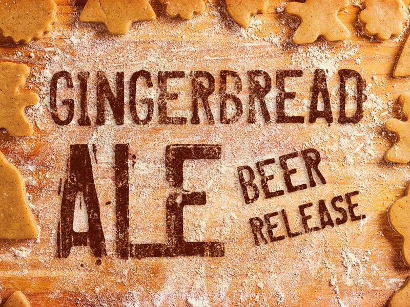 Gingerbread Ale seasonal ale gingerbread beer brewery beer branding beer art lostboroughbrewing