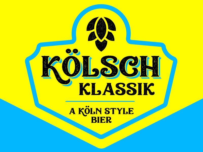 Kölsch Klassik köln kölsch bier germanbeer klassik brewery beer beer branding beer art lostboroughbrewing
