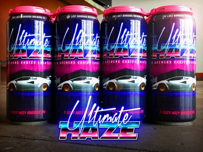 Ultimate Haze Retro Can Design